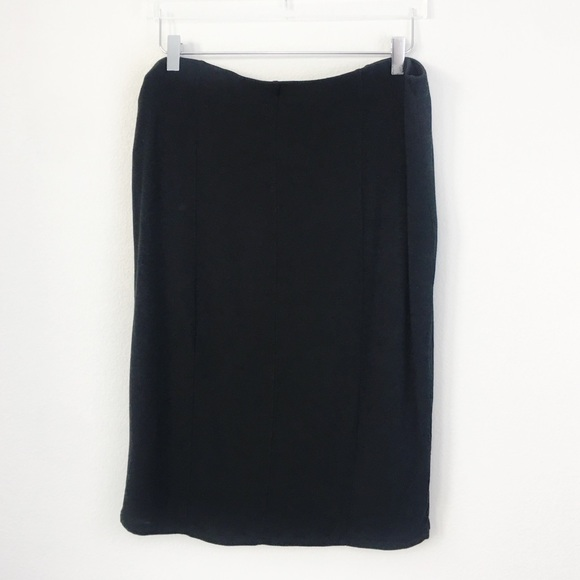Mossimo Supply Co. Dresses & Skirts - Mossimo | Solid Black Stretch Pencil Skirt | XXL